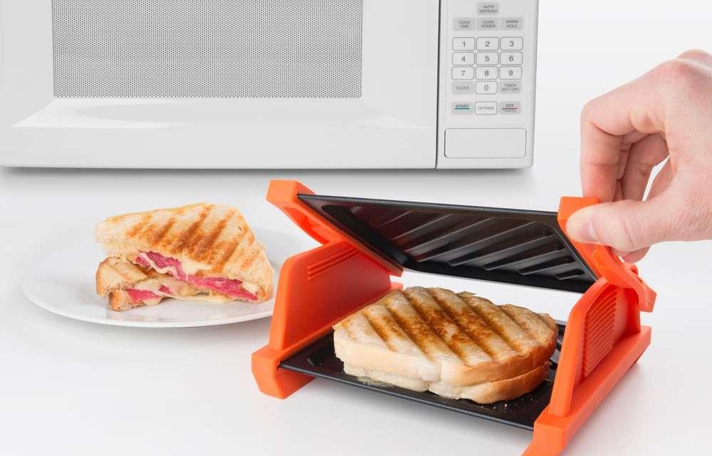 Microwave Sandwich Maker: Make Grilled Cheese Sandwich