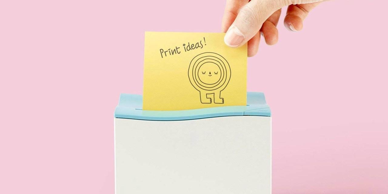 nemonic Sticky Note Printer Makes Printing Reminders Fun