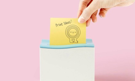 nemonic Sticky Note Printer Makes Printing Reminders Fun
