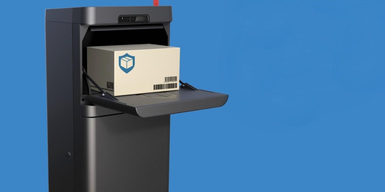 Parcel Guard Smart Mailbox Prevents Parcel Theft
