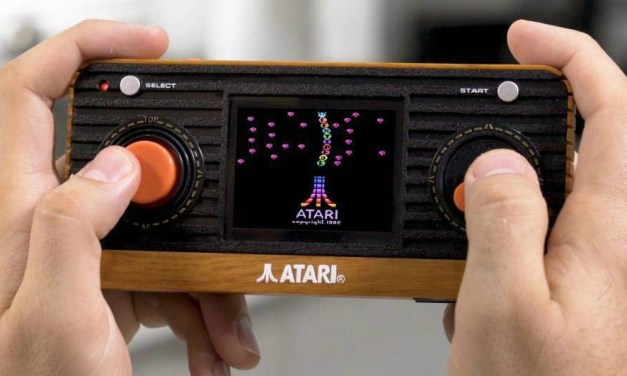 Atari Retro Handheld Console – A Classic Re-imagined