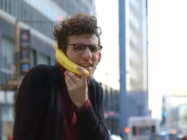 Banana Phone – World's First Banana Shaped Mobile Handset