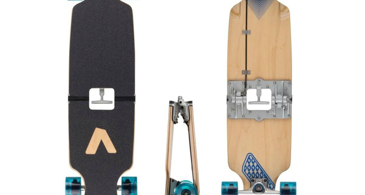 BoardUp Skateboard is Foldable for Portability