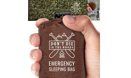 Emergency Sleeping Bag – Don't Die, Stay Alive
