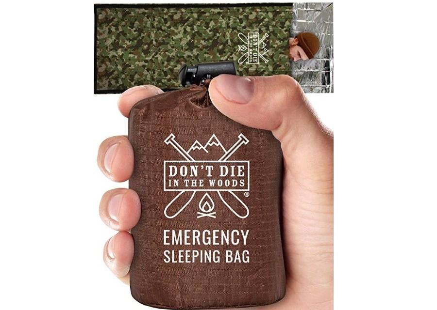 Emergency Sleeping Bag – Don't Die, Stay Alive