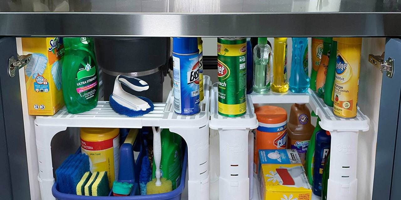 Create Extra Storage with the Under Sink Organizer