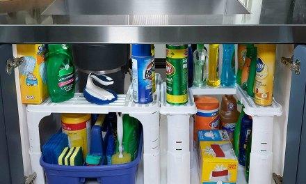 Create Extra Storage with the Under Sink Organizer