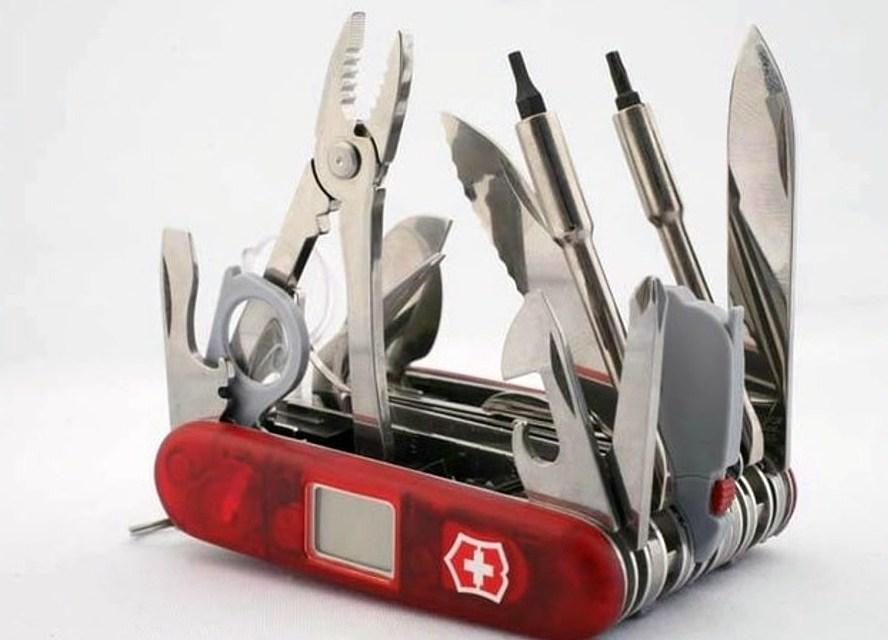 Victorinox SwissChamp XAVT Ultimate Pocket Knife