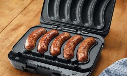 Sizzling Sausage Grill – Mouth-Watering Sausages at the Press of a Button