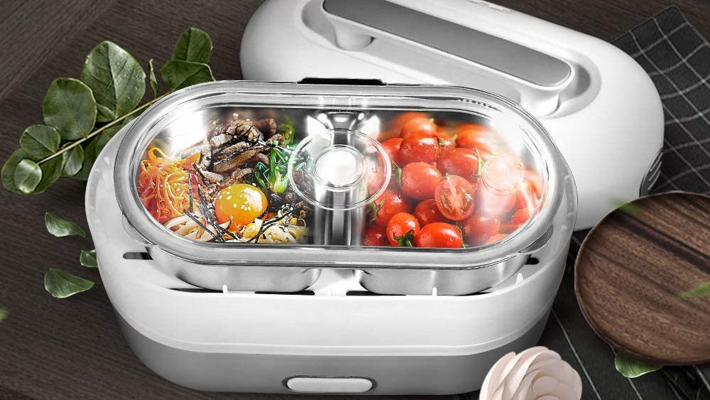 Electric Heating Lunch Box Means no more cold tasteless food