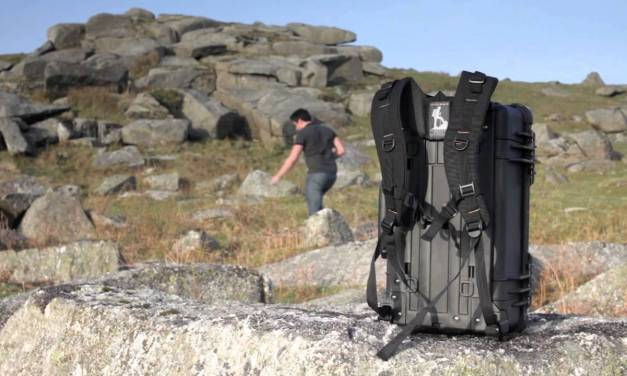 RucPac Converts any Wheeled Hardcase into a Backpack