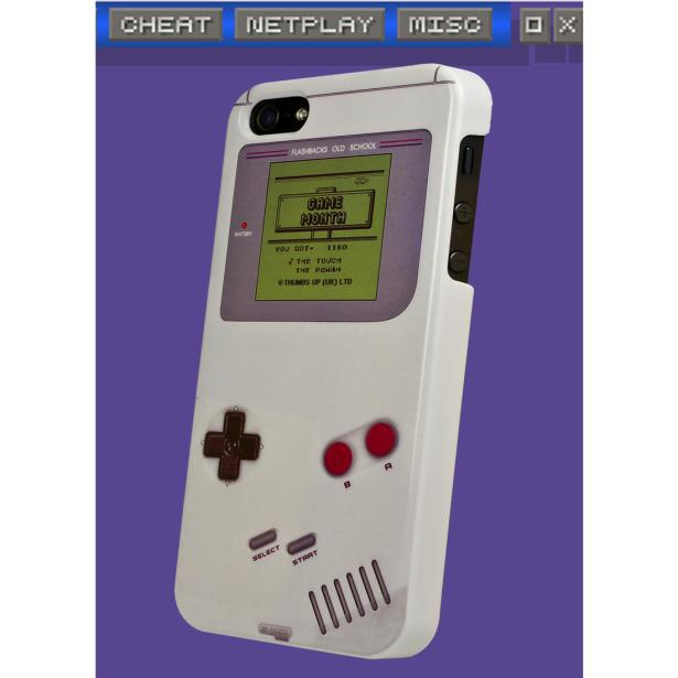 iPhone 5 Game Boy Cover