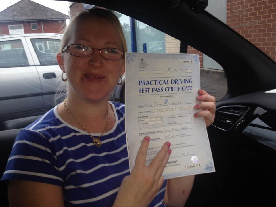 Another driving test pass in Bolton