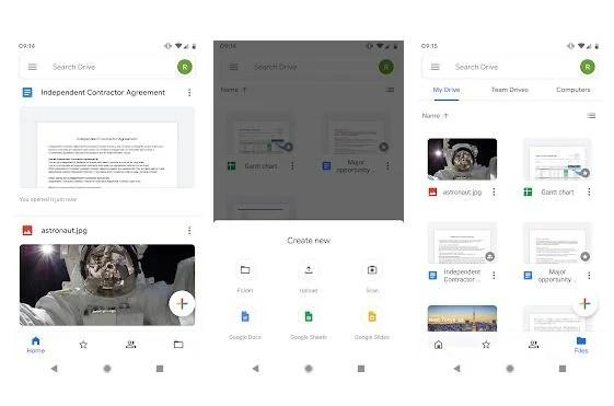 Приложение Google Drive
