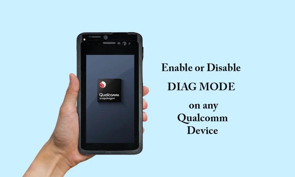 Как включить или отключить режим диагностики на устройстве Qualcomm с помощью ADB [Works on Vivo, Xiaomi, Oppo and more]