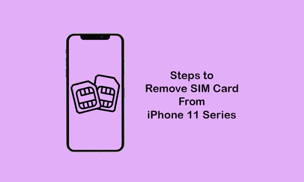 Как удалить SIM-карту из iPhone 11, 11 Pro и 11 Pro Max