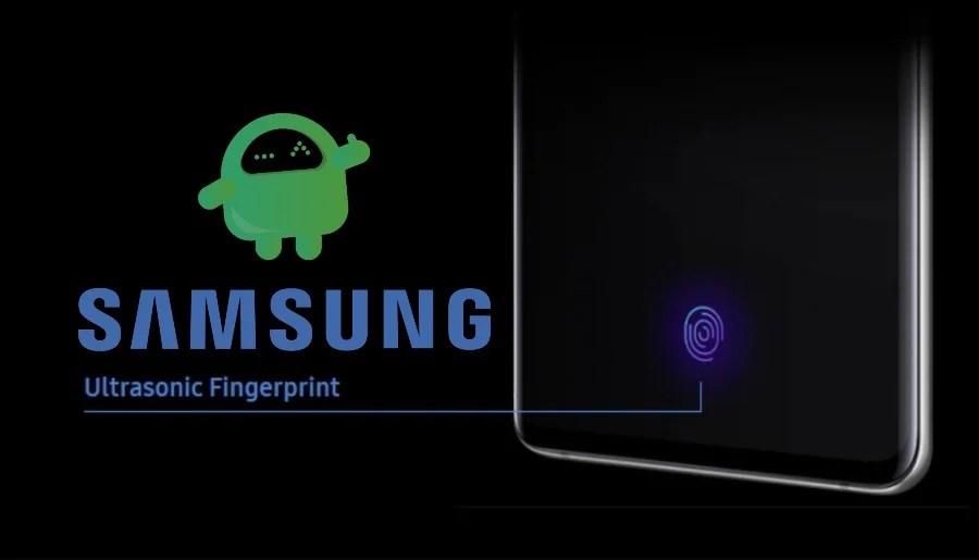 функция ультразвукового отпечатка пальца samsung (1)