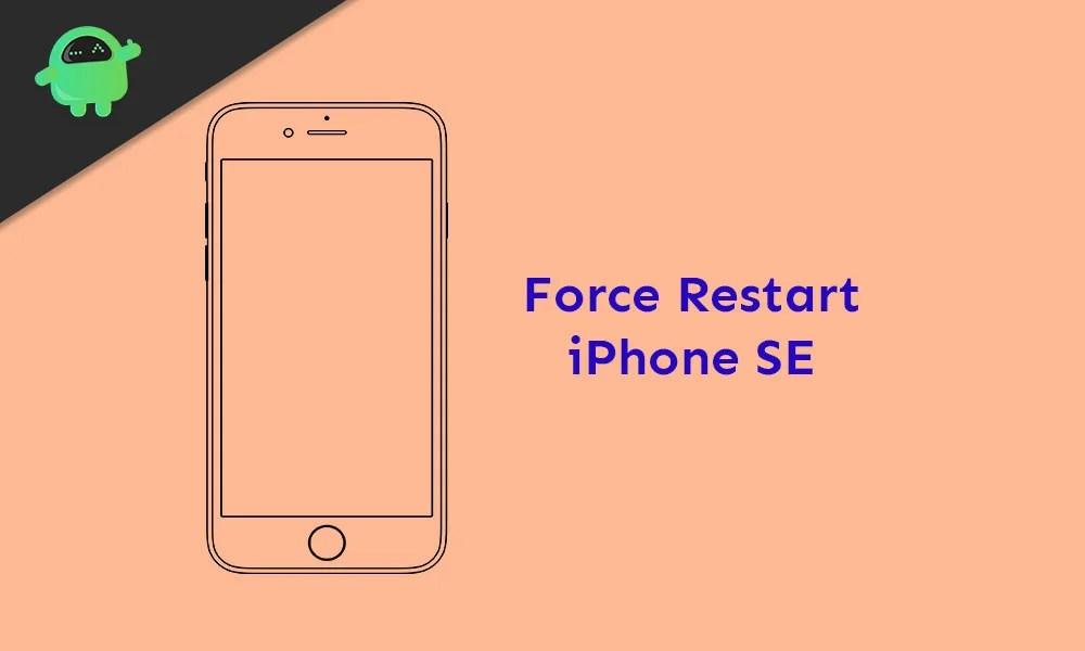 Как принудительно перезагрузить iPhone SE