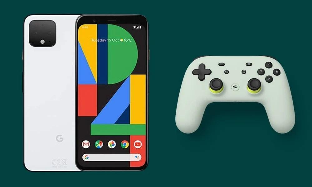 Проблема с отключением контроллера Stadia Pixel Android 11