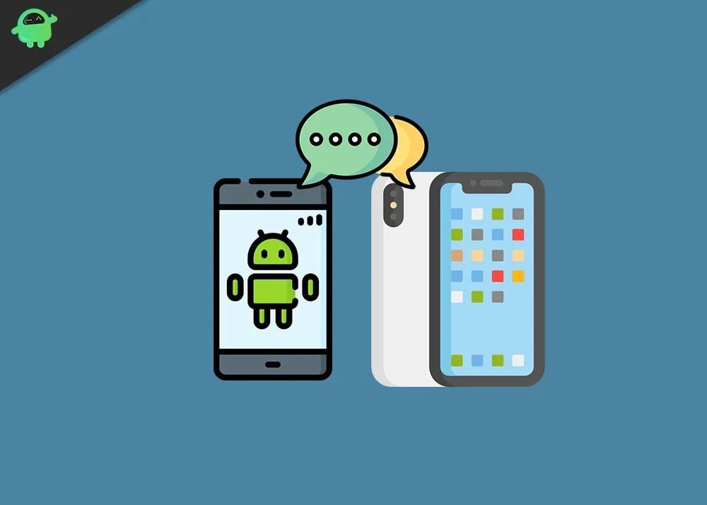Как передавать сообщения с iPhone на телефон Android