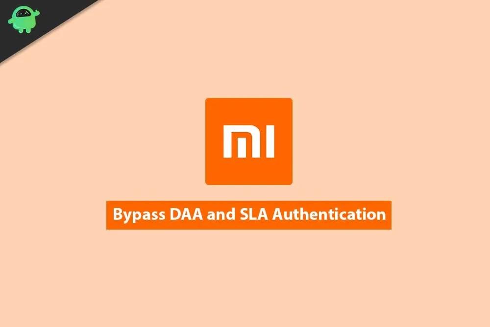 Обход аутентификации DAA и SLA на Xiaomi