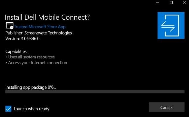 Как использовать Dell Mobile Connect на любом ПК с Windows 10