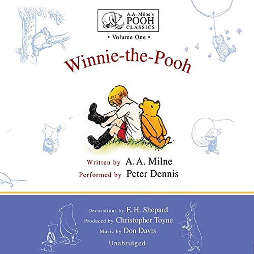 Winnie the Pooh is one of the best audiobooks for 5-year olds.