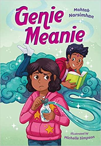 Best fantasy books for kids: Genie Meanie