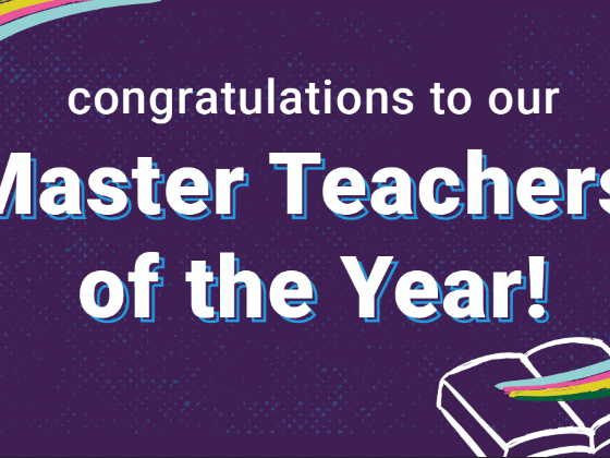 Congrats to our Epic Master Teachers of the Year!