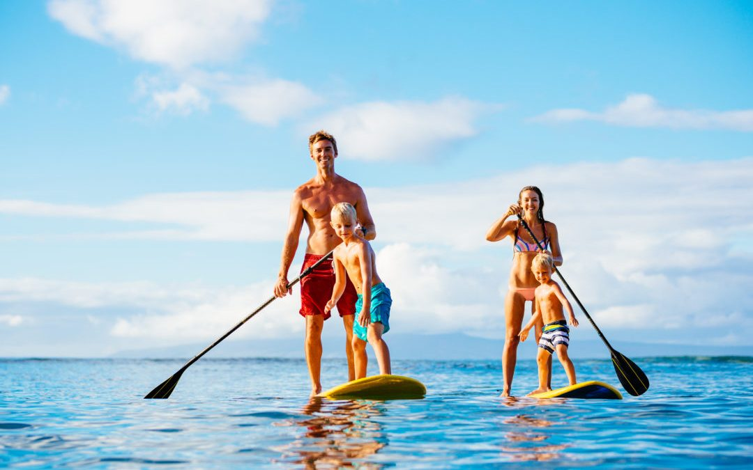 10 Ideas To Get The Whole Family Active This Summer