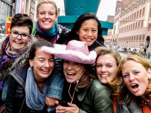 Crazy Walking Diner Game Amsterdam
