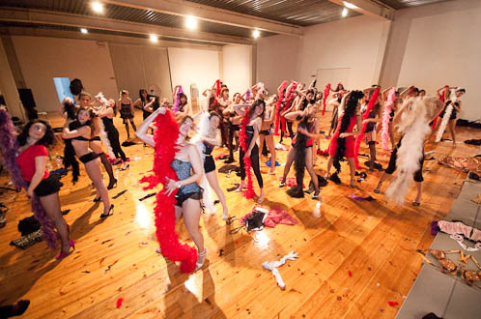 Burlesque Workshop Leiden
