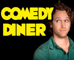 Comedy Diner Utrecht. Komisch uitje in Utrecht