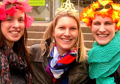 Gooische Dames Spel in Leiden