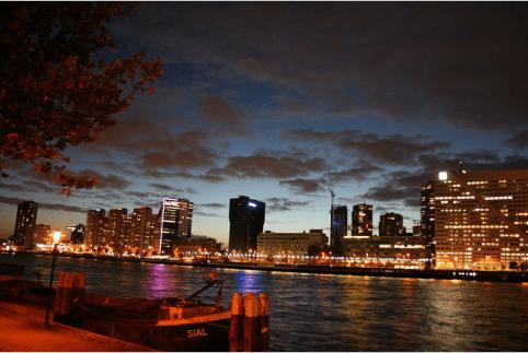 Poker diner Rotterdam