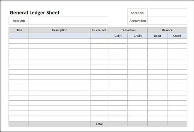 general ledger template 444