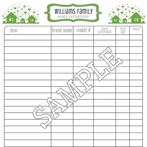 office supply order list template