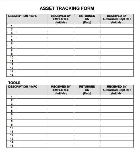 inventory tracking template 333