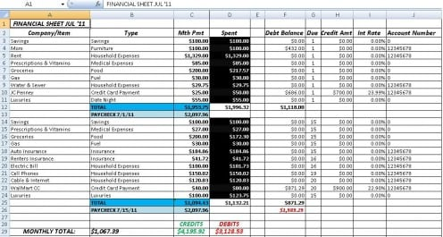 9+ Accounting Excel Templates - Excel Templates