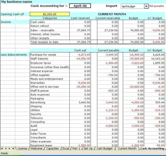 9 accounting excel templates excel templates