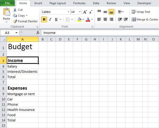 Basic Budgeting Worksheet Best Worksheet