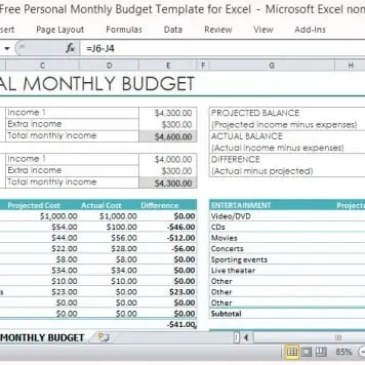 Marketing Budget Spreadsheet Template Archives Excel Templates - Marketing tracker template
