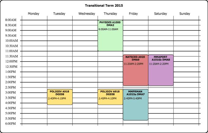 schedule makers