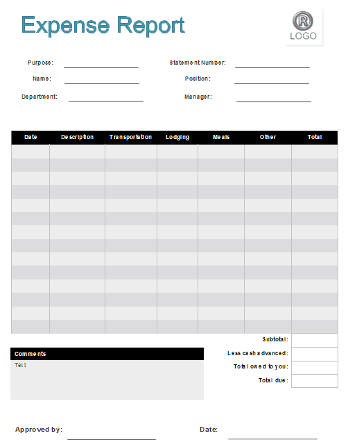 7+ Expense Claim Form Templates - Excel Templates