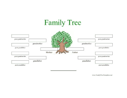 family tree template 6121