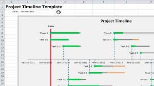 Project Timeline Excel Templates  Excel Templates