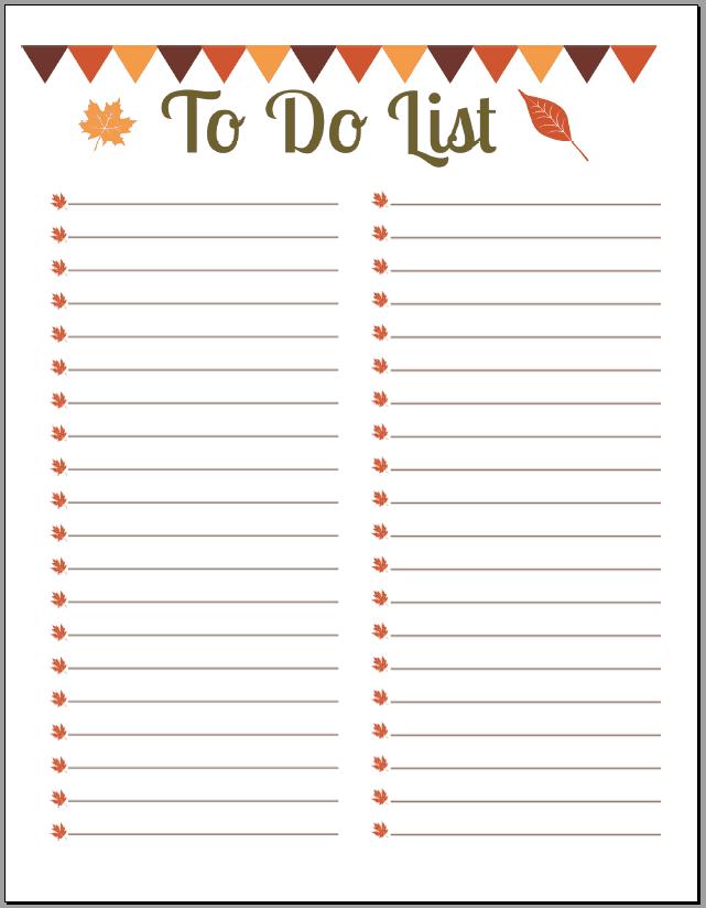 10+ Printable To Do List Templates