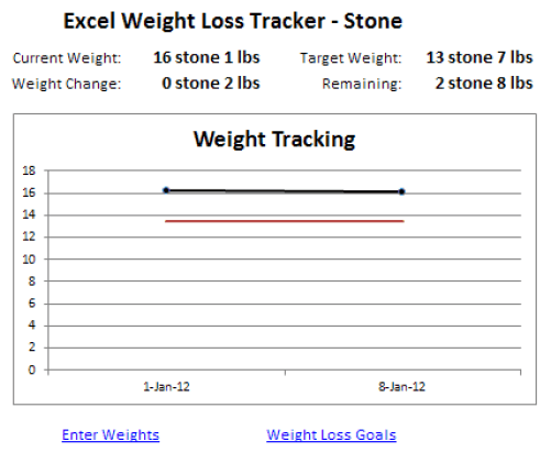Goal Tracking Template Spreadsheet 9 weight loss challenge ...