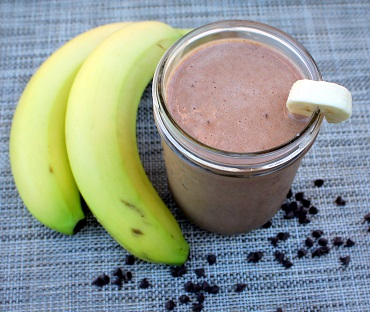 peanut butter powder smoothie