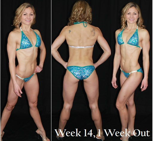 Bikini Week 14, 1 Week Out